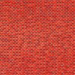 1 Pappe Ziegelmauer rot lose