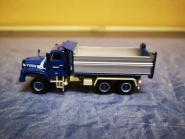 Arwico 1/87 Saurer D330N 6x6 Kipper KIBAG blau