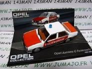 Atlas 1:43 Opel Ascona C Feuerwehr