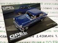 Atlas 1:43 Opel Rekord P1 - blue
