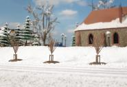 Auhagen Junge Bäume Winter 70951