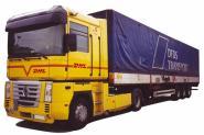AWM LKW Renault Magnum PrSZ DHL / DFDS