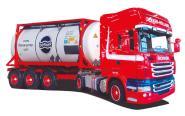 KTaHZ Eurotrasporti AWM LKW Scania R Topl