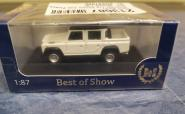 BoS Land Rover Defender 110 Double Cab weiß/schwarz 87096