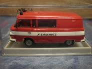 Brekina Barkas B-1000 Bus Feuerwehr Atemschutz