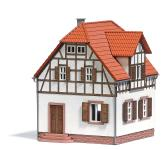 Busch Arbeiterhaus H0 1672