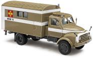 Busch LKW Hanomag AL 28 MKW ASB Arbeiter-Samariter-Bund 50803