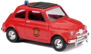 BUSCH PKW Fiat 500 Feuerwehr Holland 48718