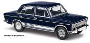 BUSCH PKW LADA 1500 Limousine schwarzblau DDR-Tuning