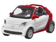 BUSCH PKW Smart Cabrio (A453) - red/white