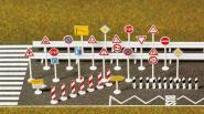 Busch Verkehrszeichen   H0