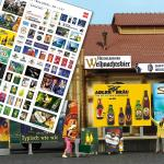 BUSCH Werbeplakate »Brauerei«