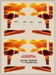 Decals für LKW-Dekor für MAN (Flammendekor) (4,8 x 6,5 cm)
