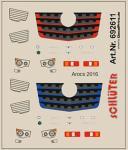 Decals für LKW-Details für Arocs 2016 (3,4 x 4,1 cm)