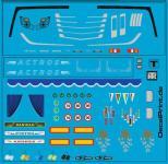 Decals LKW-Dekor - Ausschmückungsteile für Actros MP4 (6 x 6 CM9