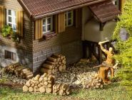 Faller 6 Kleine Brennholzstapel 180940