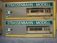 H & P 1:87 STRASSENBAHN ET57/EB57 Dresden