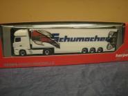 Herpa LKW MB Actros 11 Giga Kühl-KSZ Schumacher