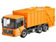Herpa LKW MB Econic Pressmüllwwagen kommunalorange 304252