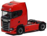 Herpa LKW Scania CR 20 HD SZM 2achs rot