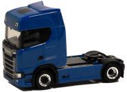 Herpa LKW Scania CS 20 Topl/Aerop. SZM blau m.Chromfelgen