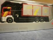 Herpa MAN TG-S M Abrollcontainer-LKW Feuerwehr Hannover 919982
