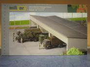Herpa Military Bausatz Gebäudebausatz Fahrzeugunterstand 745499