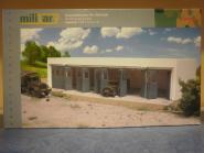 Herpa Military Bausatz Gebäudebausatz Kfz-Werkstatt 745819
