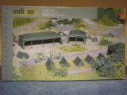 Herpa Military Bausatz Zelte (7 Stück) 745826