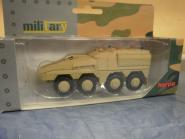 Herpa Minitanks GTK Boxer Sanitätsfahrzeug, undecoriert (sandbeige) 745147