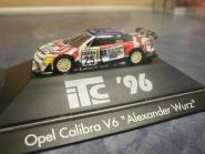 Herpa PKW Opel Calibra V6 Alexander Wurz 1996