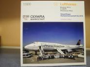 Herpa Wings 1:500 Boeing 747-8 Lufthansa Siegerflieger Olympia 530026