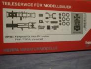 Herpa Z SZM-Fahrgestell Volvo FH Lowliner 2 Stück