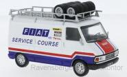 IXO 1:43 Fiat 242 Fiat France Service Course with roof rack1