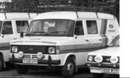 IXO 1:43 Ford Transit MK II, Team Ford, Ford, 1979 Assistance with roof rac