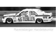 IXO 1:43 Mercedes 190E 2.3-16V - No.46 - ETCC 1987  Di.Gioia/Duez/Vojtech