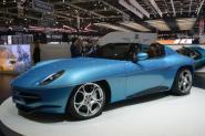 Matrix 1:43 Alfa Romeo Touring Disco Volante Spider blue 16