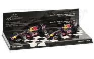 Minichamps 1:43 2-Car Set RED BULL RACING RENAULT RB6 – 2010 – CONSTRUCTERS WORL