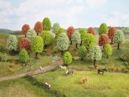 Noch Frühlingsbäume, 25 Stück, 5 - 9 cm hoch 26806