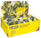 Noch Laub- und Nadelbäume mit Baumfuß, 100 Stück 25964