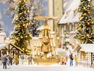 Noch Weihnachtsmarkt-Pyramide 14395