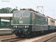 PIKO ~E-Lok 151 DB grün IV + PluX22 Dec. 51315
