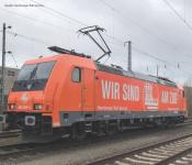 PIKO ~E-Lok BR 185.2 Hamburg Rail Service VI + 8pol. Dec. 59055