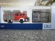 Rietze Iveco Magirus Lentner MK LF 16-TS Feuerwehr Gera - Mitte 71222