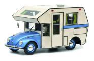 Schuco 1:18 VW Käfer Motorhome, blau 450011400