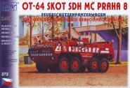 SDV Bausatz OT-64A SKOT Feuerschützenpanzerwagen MC Pra