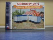 SDV Bausatz Set mit 2 Zirkus Anhänger Set III