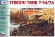 SDV Bausatz T-34/8+ VZ.1941 Mittlerer Panzer