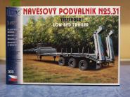 SDV Bausatz Tieflade-Anhänger N 25.31 grau