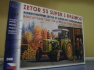 SDV LKW Bausatz Zetor 50 Ackerschlepper m.Traktorkabine